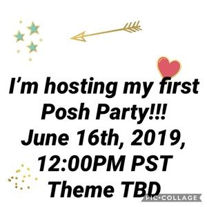 Other - Posh Party Sunday June 16, 2019, 12pm PT